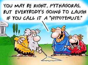 Pythagoras cartoon