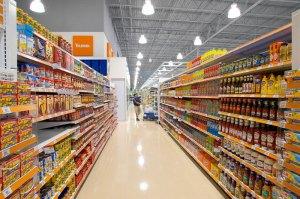 surpermarket aisle