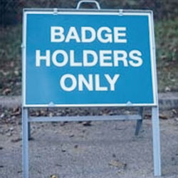 badge-holders-only-car-park