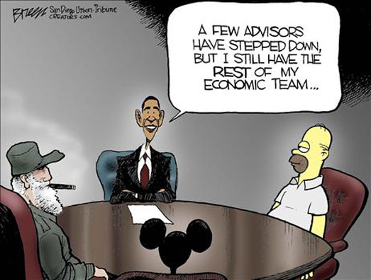 Obama economic advisors