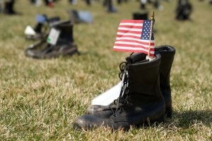 Boots On The Ground Fallen Soldier