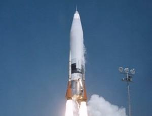 Convair X12 type missile