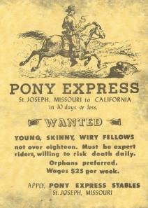 did you know pony express