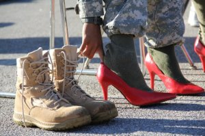 Did You Know soldiers high heels