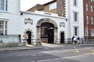 Did You Know St James Gate Guinness Brewery entrance
