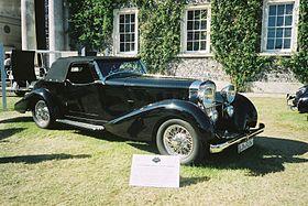 Hispano Suiza J12 Sport Torpedo 1933