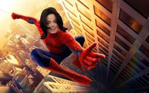 Michael Jackson Spiderman