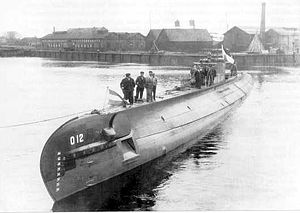 O 12-class submarine of the Royal Netherlands Navy