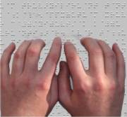 pun  reading braille