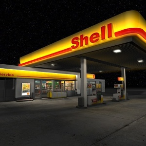 pun shell gas station