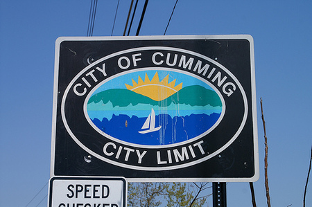 silly town names - City of Cumming