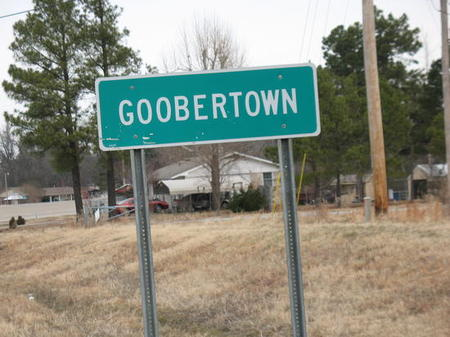 silly town names - Goobertown