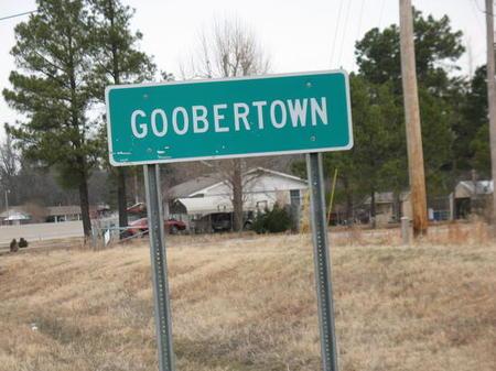 silly town names - Goobertown