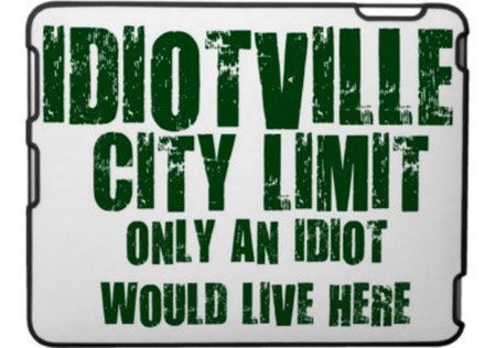 silly town names - Idiotville