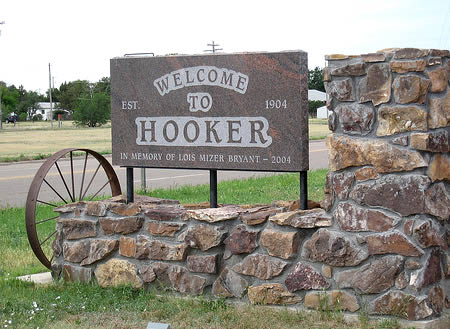 Silly place names - Hooker