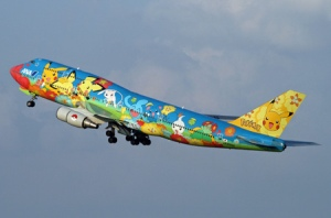 All Nippon Airways Pokemon 747 jet