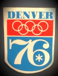 Denver Olympic sticker 1976