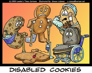 disabled cookies
