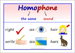 homophone definition