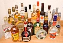 liqueur bottles