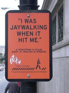 the-jay-walker sign