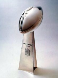 Tiffany super bowl trophy