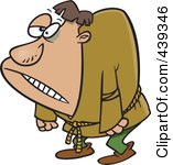 439346-Royalty-Free-RF-Clip-Art-Illustration-Of-A-Cartoon-Hunchback