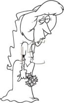 Cartoon_of_a_Bride_Left_at_the_Alter_clipart_image