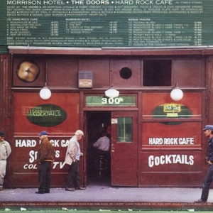 Doors album cover Morrison Hotel - Hard Rock Cafe