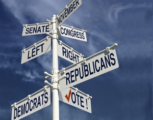Generic Political Directional Signs