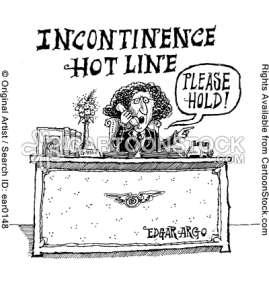 incontinence hot line