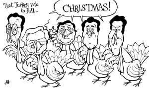 turkeys voting for Christmas