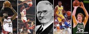 basketball inventor James Nesmith