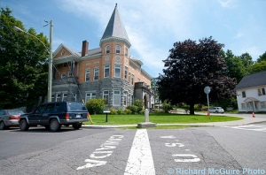 Haskell Free Library and Opera House, Quebec-Vermont border
