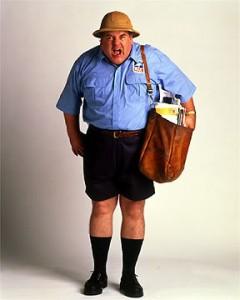 angry mailman