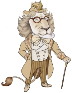 Dandy_Lion_by_borogove13