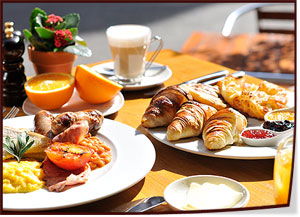 English Continental Breakfasts