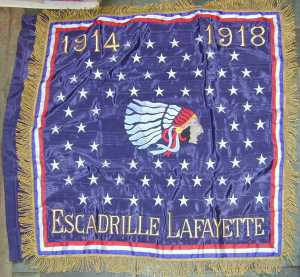 Escadrille Lafayette Banner