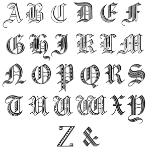 old-english-alphabet