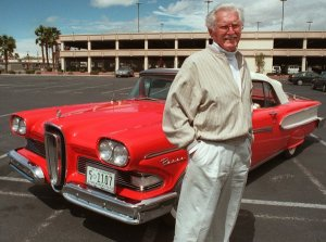 Roy Brown Jr with the Edsel