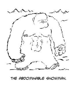 abdominable snowman