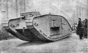 British WW1 Tank