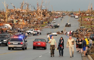 Joplin, Missouri after tornado
