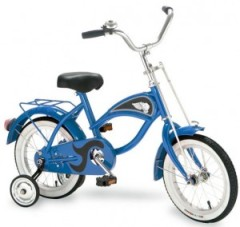 kid's bike with training wheels