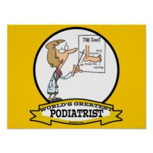 worlds_greatest_podiatrist_women_cartoon_poster