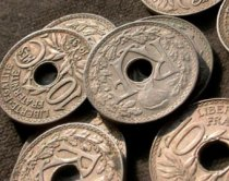 doughnut-shaped coins