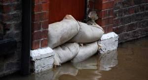 sandbags dam