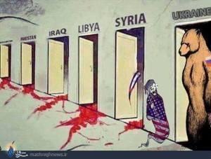 Iraq Libya Syria Ukraine