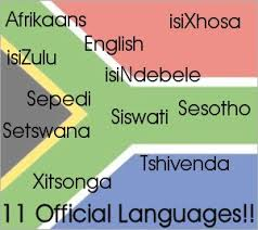 South Africa official languages