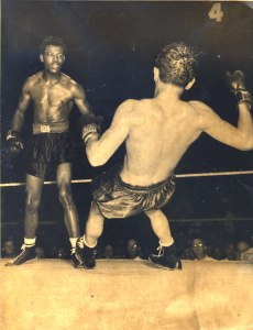 Sugar Ray Robinson and Jimmy Doyle